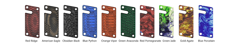 Vandy Vape Jackaroo Replacement Panel Colors