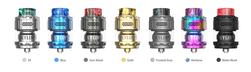 Vandy Vape Kylin M RTA Colors