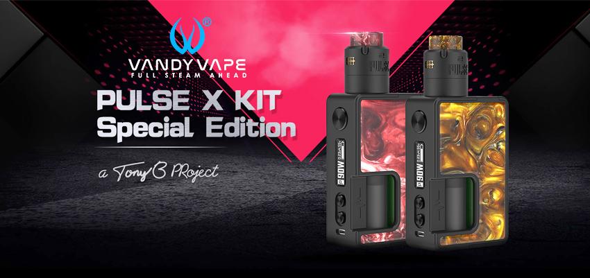 Vandy Vape Lulse X Kit Special Edition