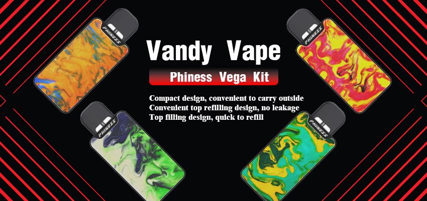Vandy Vape Phiness Vega Kit Banner
