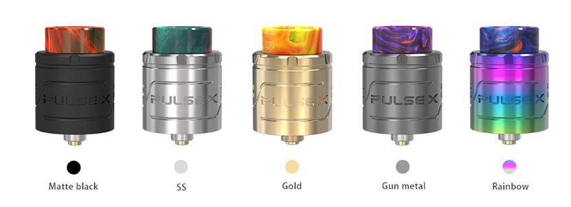 Vandy Vape Pulse X BF RDA Colors
