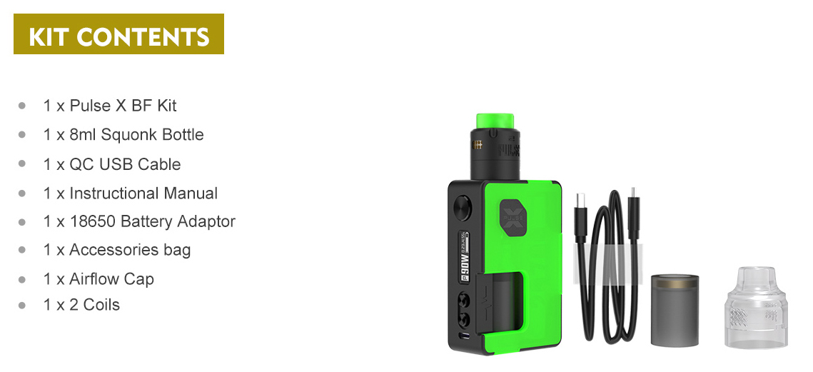 Vandy Vape Pulse X Kit SE Features 14