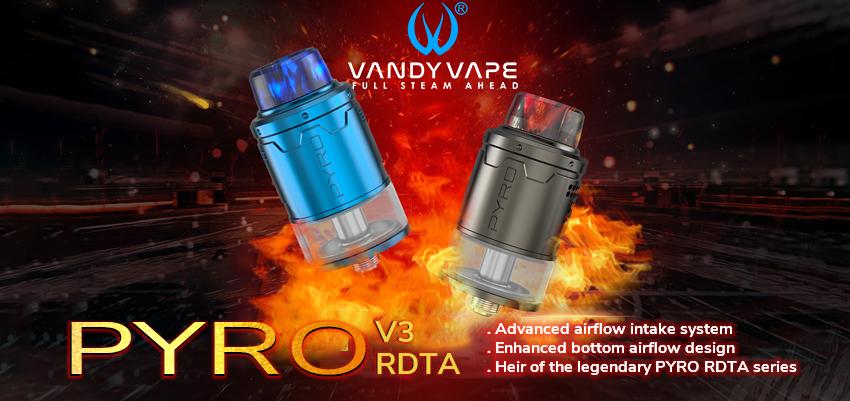 Vandy Vape Pyro V3 RDTA Banner