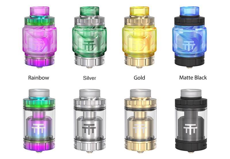 Vandy Vape Triple 2 RTA Tank Colors