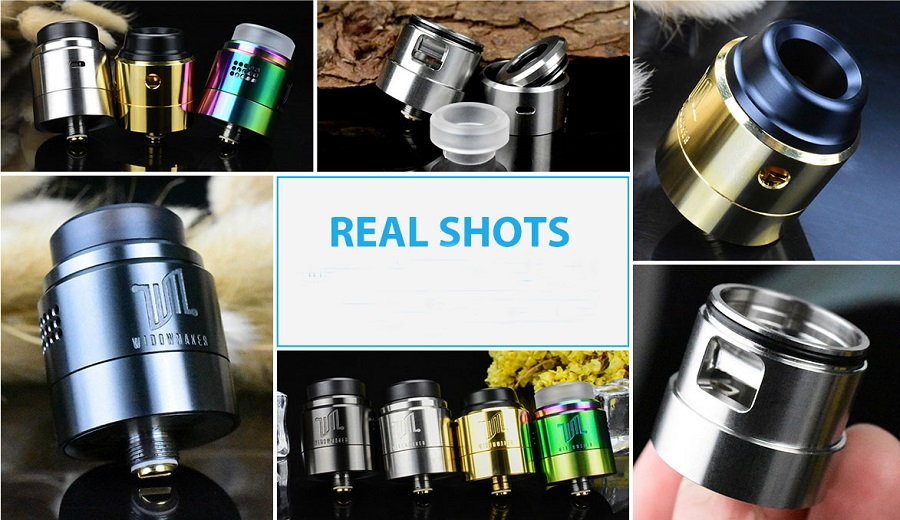 Vandy Vape Widowmaker RDA Real Shot