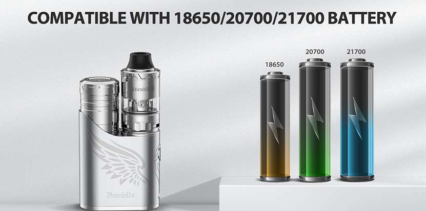 Vapefly Brunhilde SBS 100W Mod battery