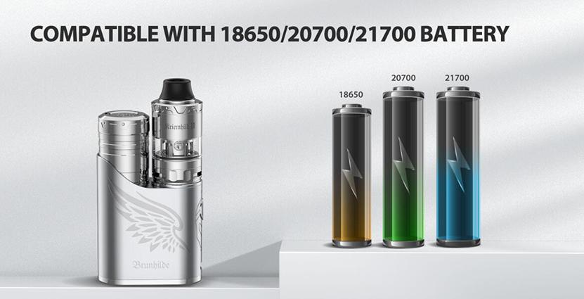 Vapefly Brunhilde SBS Kit Battery