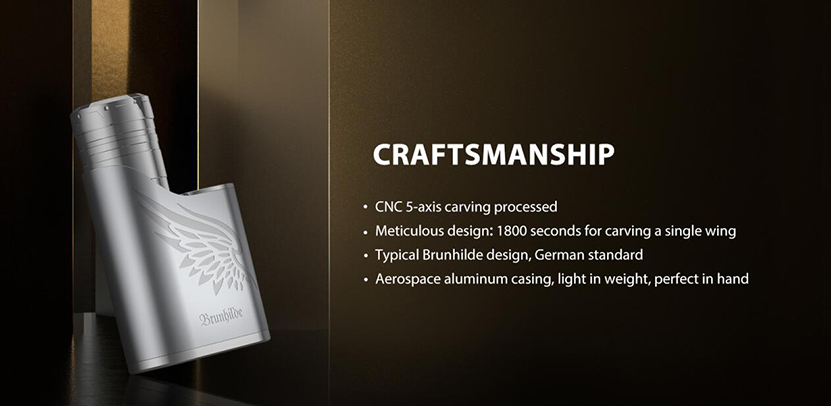 Vapefly Brunhilde SBS Mod Kit Craftsmanship