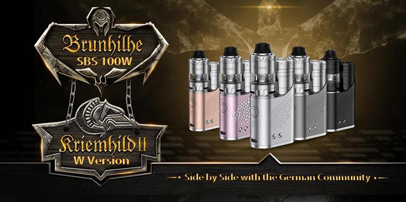 Vapefly Brunhilde SBS Mod Kit with German Community