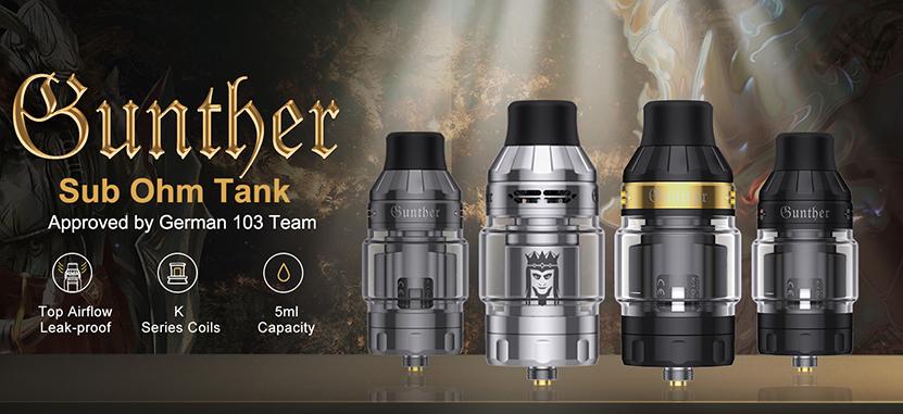 Vapefly Gunther Sub Ohm Tank Feature 3
