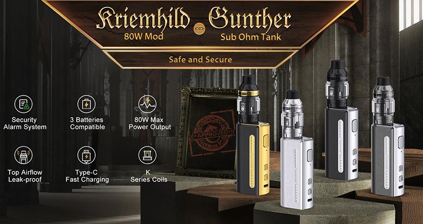 Vapefly Kriemhild 80W Kit Feature 8