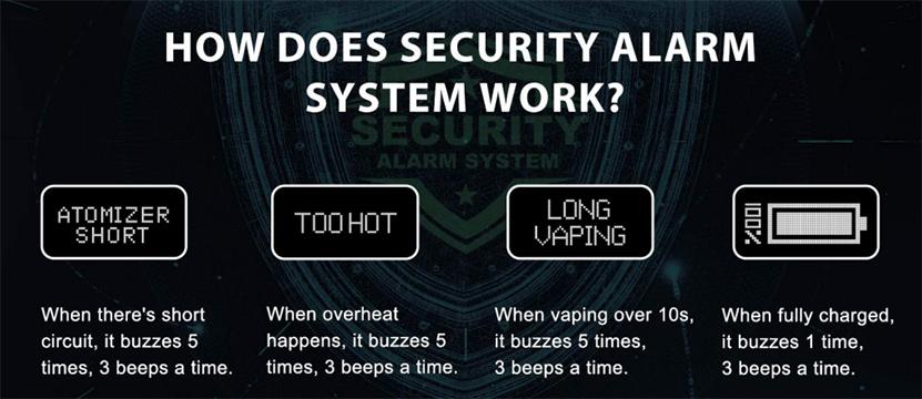 Vapefly Kriemhild 80W Mod Security System