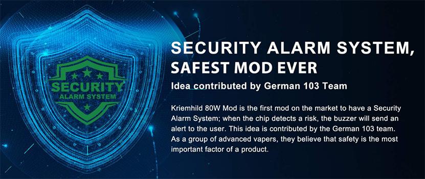 Vapefly Kriemhild 80W Mod safety