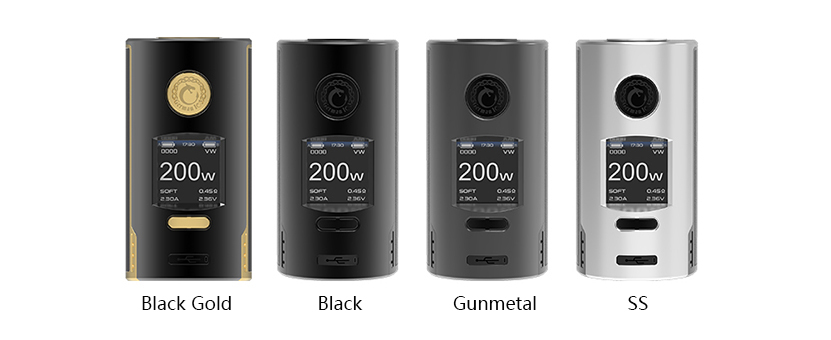 Vapefly Kriemhild Box Mod Colors