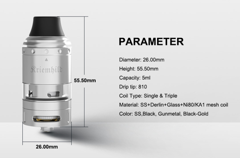 Kriemhild Tank Parameter