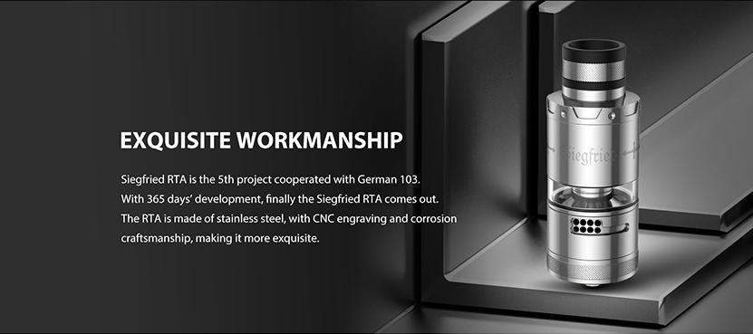 Vapefly Siegfried RTA Design