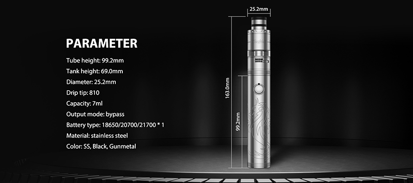 Vapefly Siegfried Box Mod Feature 4