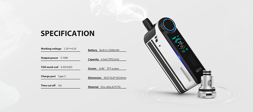 Vapefly TGO Kit Feature 6