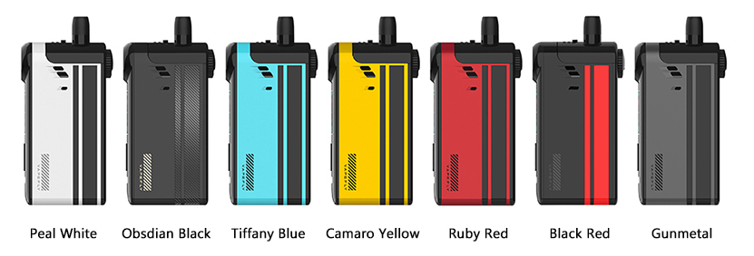 Vapefly TGO Kit Colors