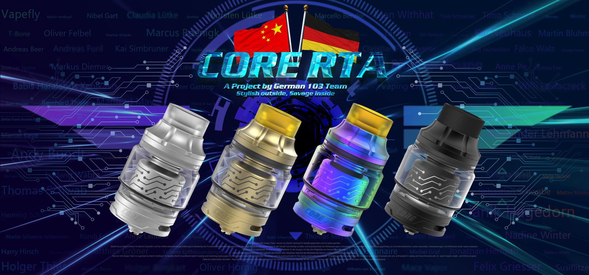 Vapefly Core 25.2mm RTA