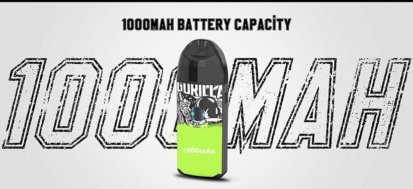 Vapefly Jester Pod Kit battery