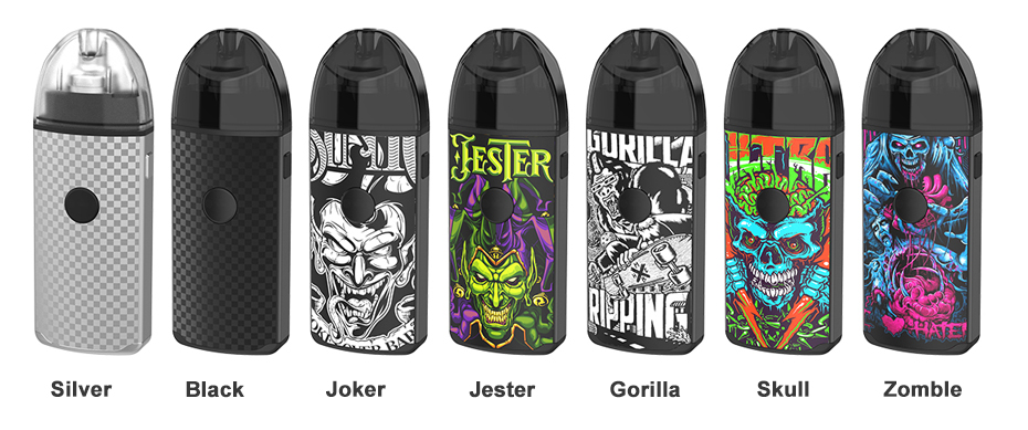Vapefly Jester Pod Kit colors