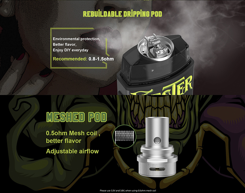 Vapefly Jester Vape Kit Pod