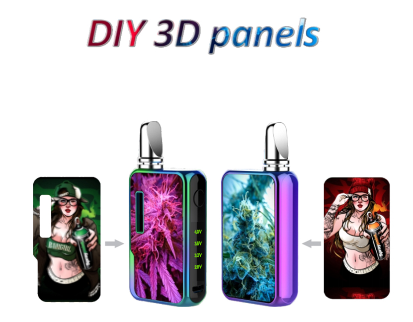 Vapmod Dragoo Express Mod 3D panels