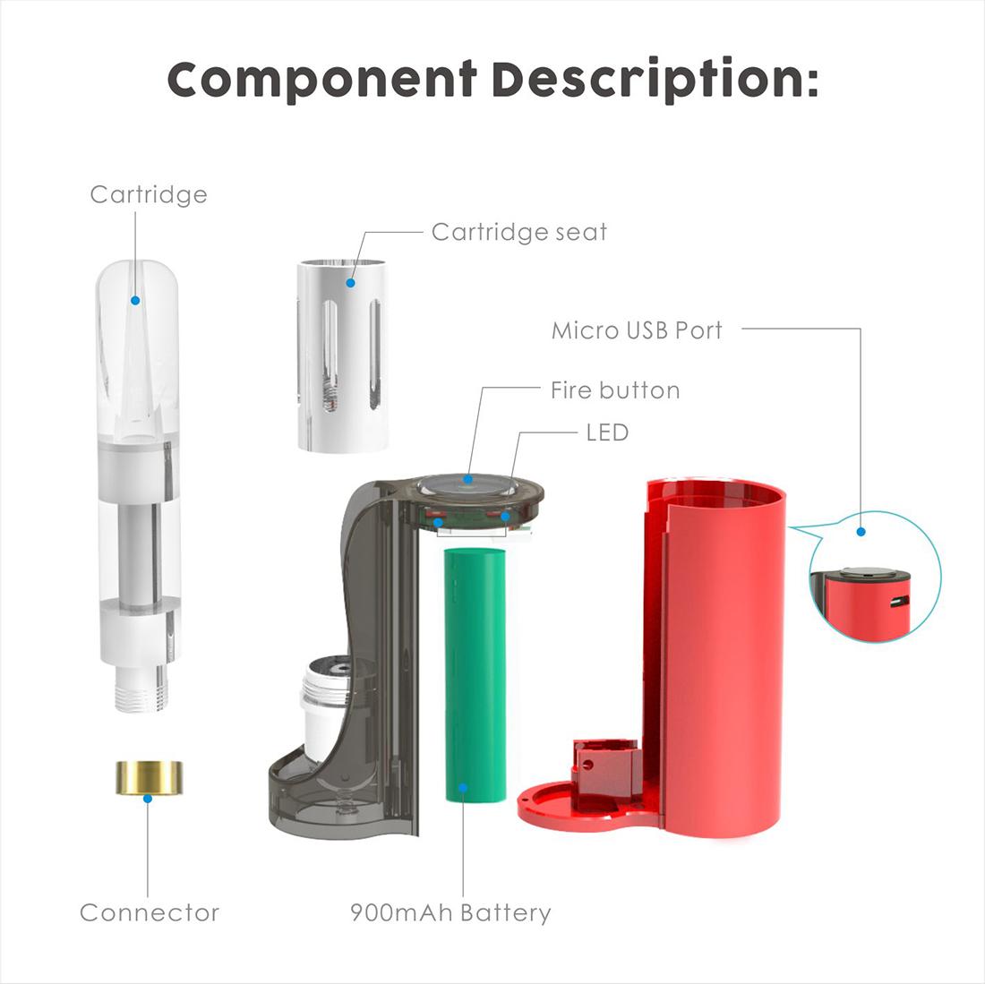 Vapmod Pipe 710 Starter Kit System
