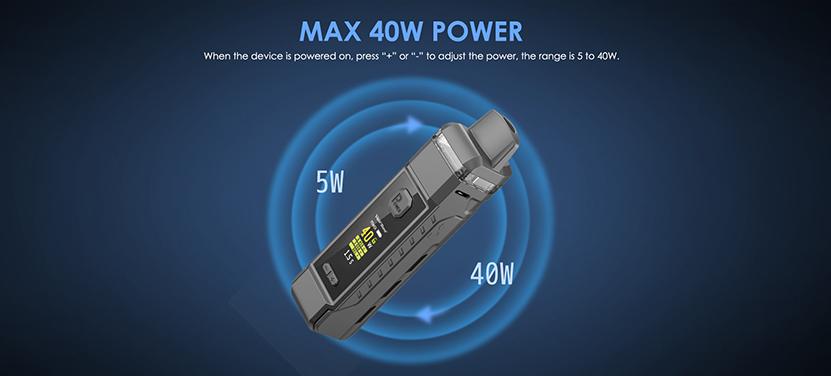 Vapor Storm V-PM 40 Pod System Kit 40W Power