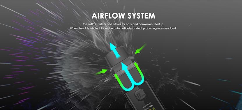 V-PM 40 Mod Pod Kit Airflow