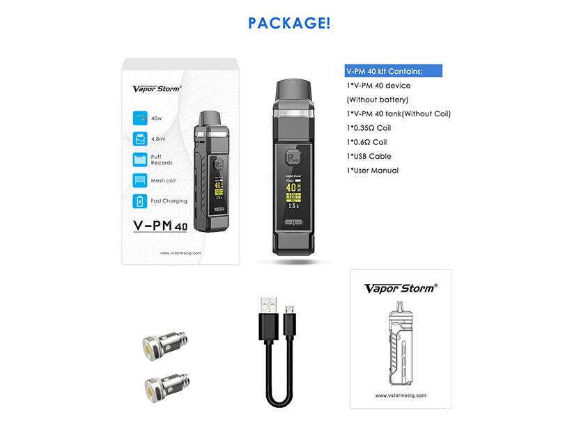 V-PM 40 Kit Package