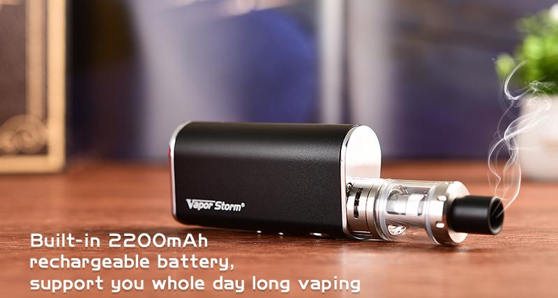 Vapor Storm Mini 50W Kit Features 3