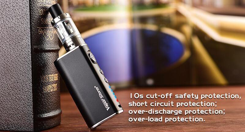 Vapor Storm Mini 50W Kit Features 4