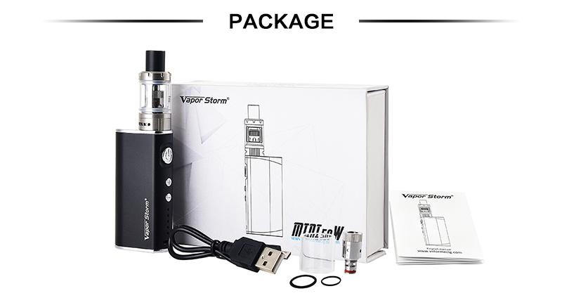 Vapor Storm Mini 50W Kit Features 6