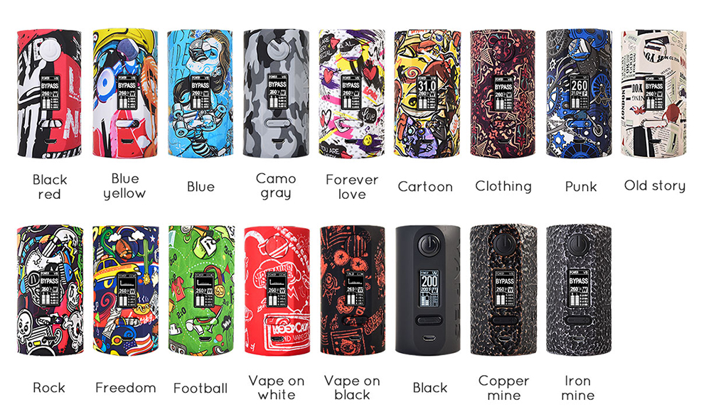 Vapor Storm Puma Box MOD 17 colors