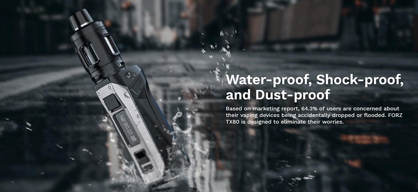Vaporesso FORZ TX80 Mod Kit Protections 1