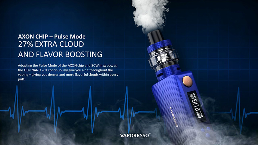 Vaporesso GEN NANO TC Kit AXON Chip