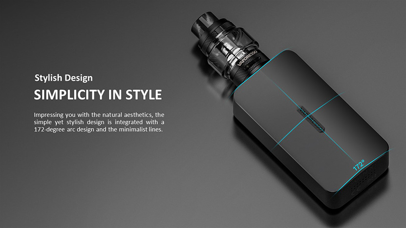 Vaporesso Gen X Mod Kit Stylish Design