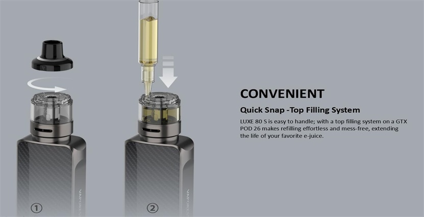 Vaporesso LUXE 80 S Kit Feature 11