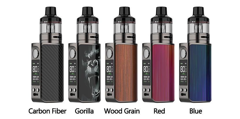 Vaporesso Luxe 80 Pod Mod Kit colors