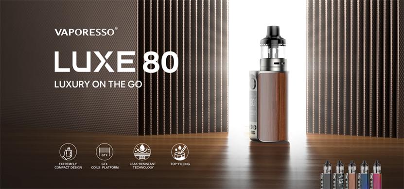 Vaporesso Luxe 80 Pod Mod Kit feature