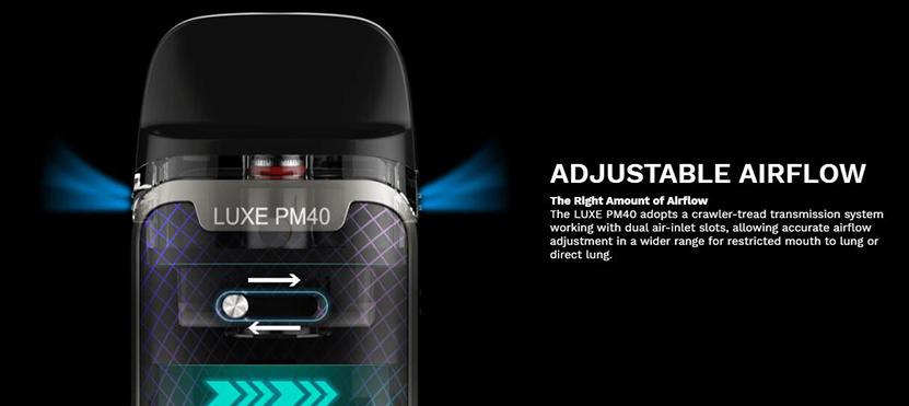 Vaporesso Luxe PM40 Pod Mod Kit Feature 3