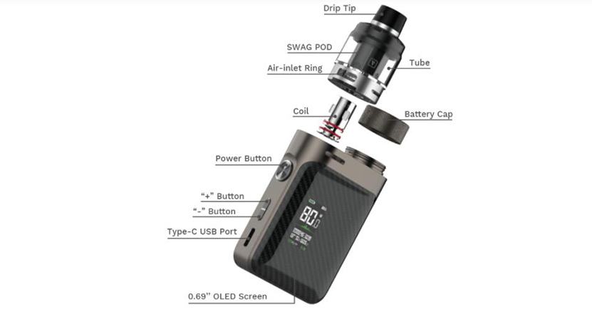 Vaporesso Swag PX80 Kit Feature 10