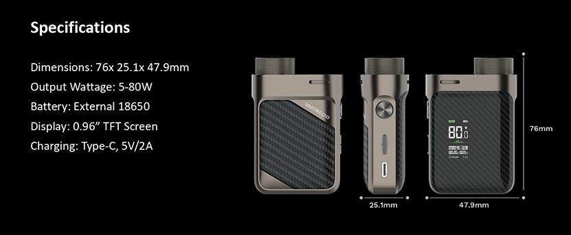 Vaporesso Swag PX80 Mod Feature 5