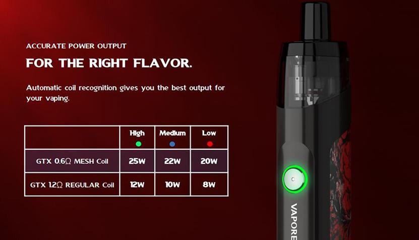 Vaporesso TARGET PM30 Kit Feature 9