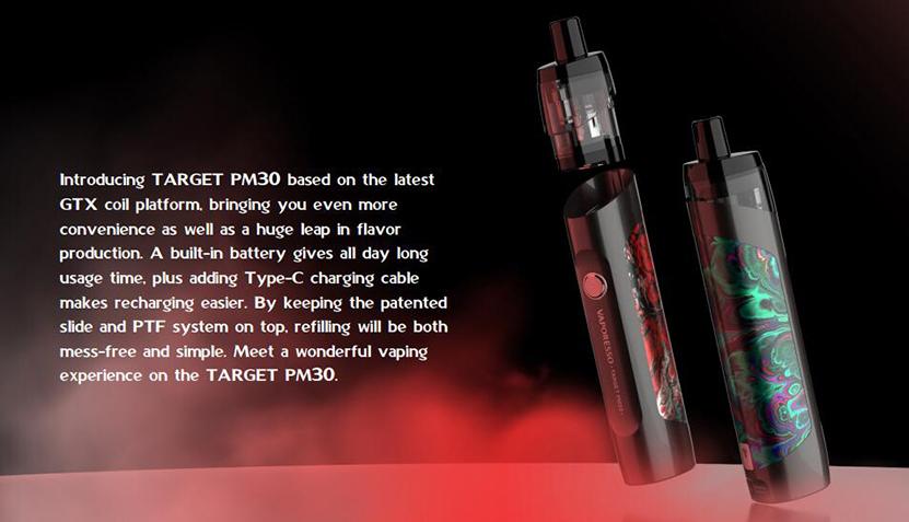Vaporesso TARGET PM30 Kit Feature 2