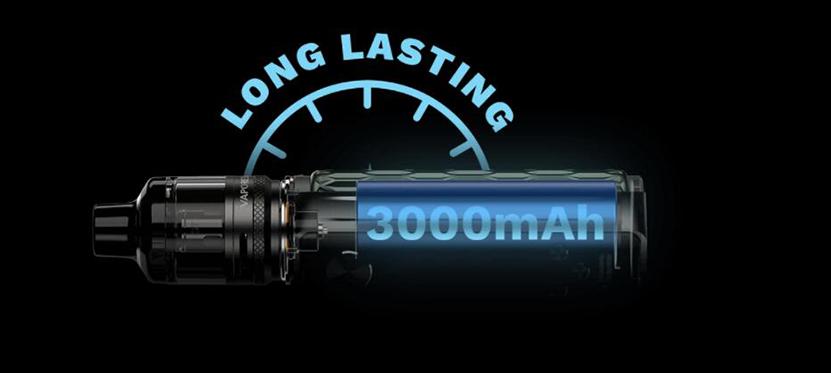 Vaporesso Target 80 3000mAh battery capacity