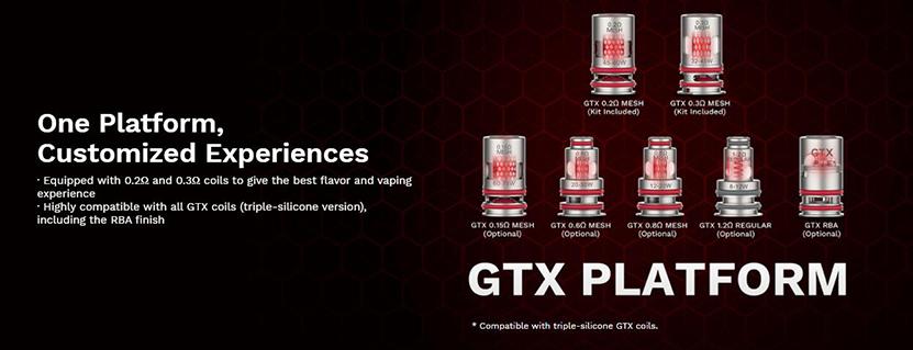 Target 80 Kit GTX Coils
