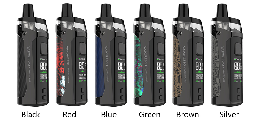 Vaporesso Target PM80 Pod Mod Kit Full Colors